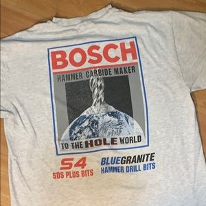"Bosch ""To The Hole World"" Shirt Gray Medium"